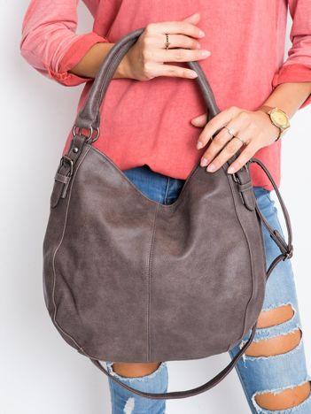 Ciemnobrązowa torba damska na ramię