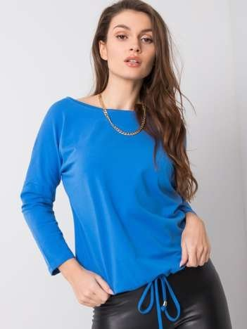 Ciemnoniebieska bluzka Fiona