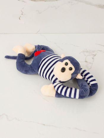 Ciemnoniebieska maskotka Małpka