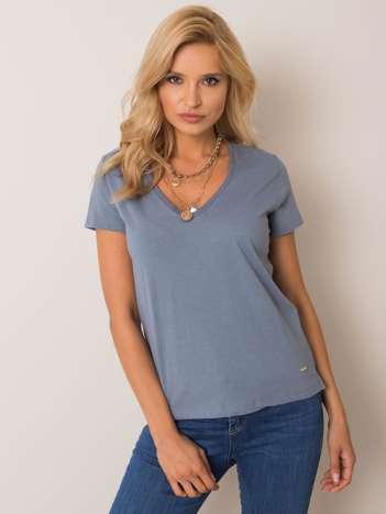 Ciemnoniebieski t-shirt Connie NIE ZNASZ MNIE