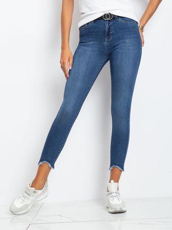 Ciemnoniebieskie jeansy Carlita