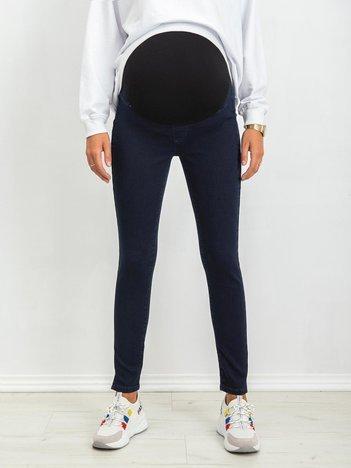 Ciemnoniebieskie jeansy Subtle