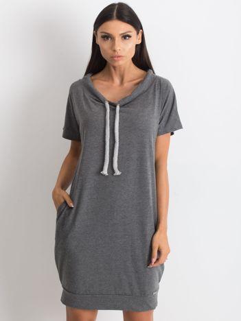 Ciemnoszara sukienka Distinctiveness