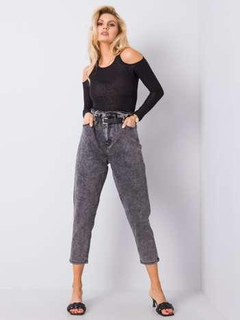 Ciemnoszare jeansy Maritta