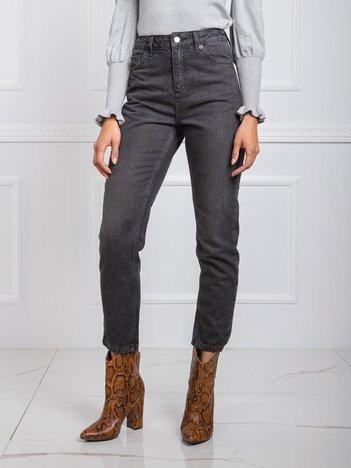 Ciemnoszare jeansy Twerk RUE PARIS