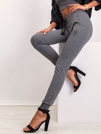 Ciemnoszare spodnie Alluring