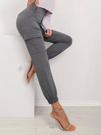 Ciemnoszare spodnie Layla