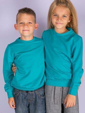 Ciemnozielona bluza młodzieżowa