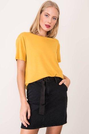 Ciemnożółty t-shirt BSL