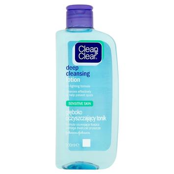 """Clean&Clear Głęboko oczyszczający tonik do twarzy do skóry wrażliwej 200ml"""""""