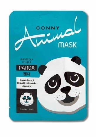Conny Animal Kojąca Maseczka Panda Conny 21 ml