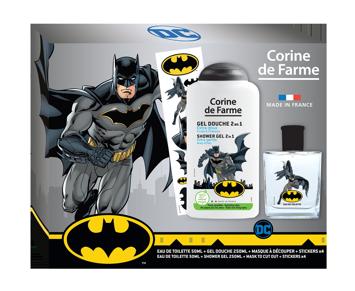 """Corine de Farme Disney Zestaw prezentowy Batman (woda toaletowa 50ml+żel p/pr.250ml+maska)"""""""