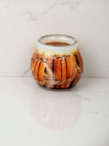 Cynamonowa świeca zapachowa