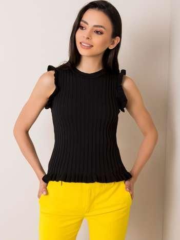 Czarna bluzka Penny RUE PARIS