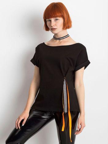 Czarna bluzka Sheer