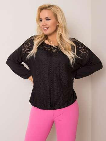Czarna bluzka plus size Lacey
