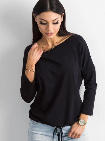 Czarna bluzka z bawełny