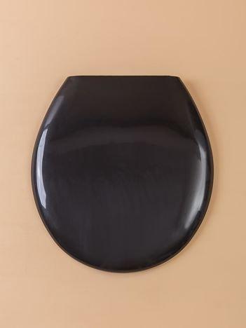 Czarna deska sedesowa