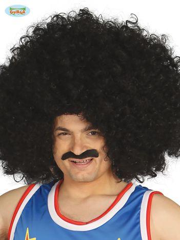 Czarna duża peruka afro dla dorosłych na imprezę