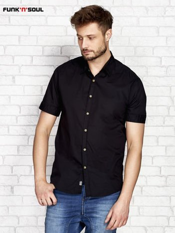 Czarna koszula męska FUNK N SOUL