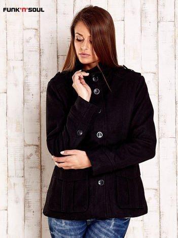 Czarna przejściowa kurtka z podszewką FUNK N SOUL