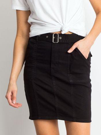 Czarna spódnica Growing