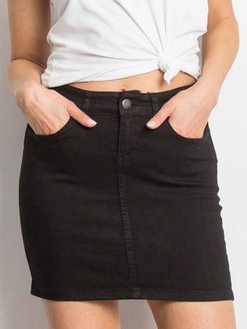 Czarna spódnica Transition