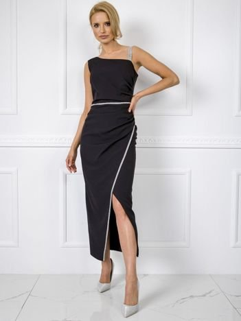 Czarna sukienka Abbie