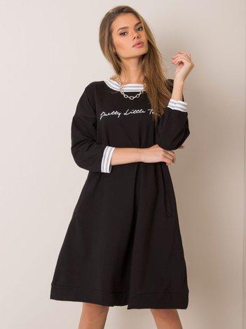 Czarna sukienka Abril