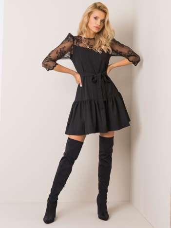 Czarna sukienka Amanda