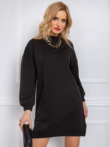Czarna sukienka Aubrie RUE PARIS