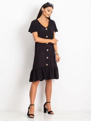 Czarna sukienka Corner
