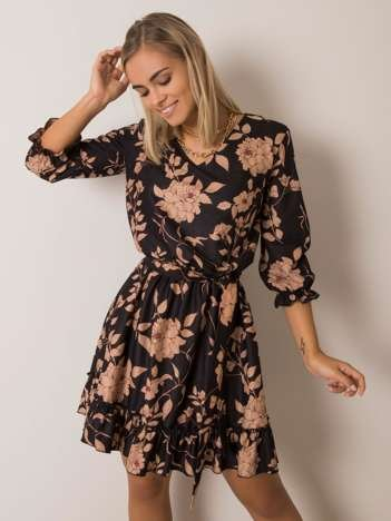 Czarna sukienka Cristen