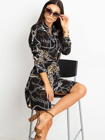 Czarna sukienka Gracia