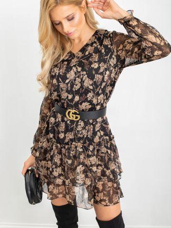 Czarna sukienka Grand
