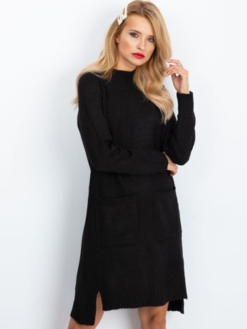 Czarna sukienka Harmony