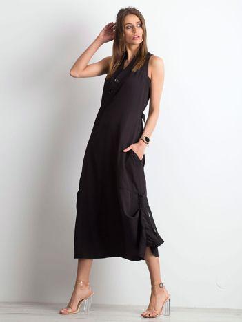 Czarna sukienka Instincts