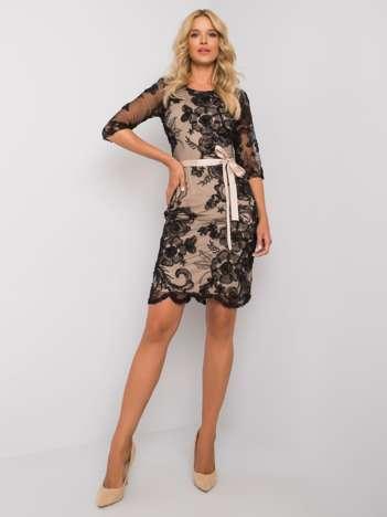 Czarna sukienka Ivrea