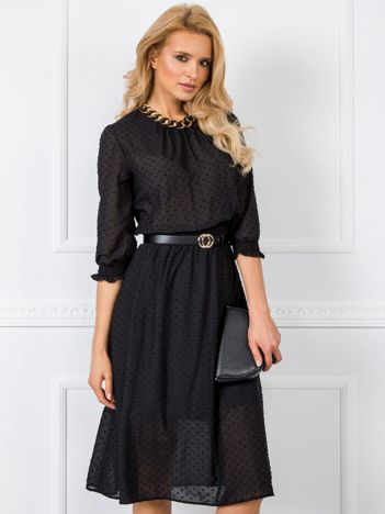 Czarna sukienka Nancy