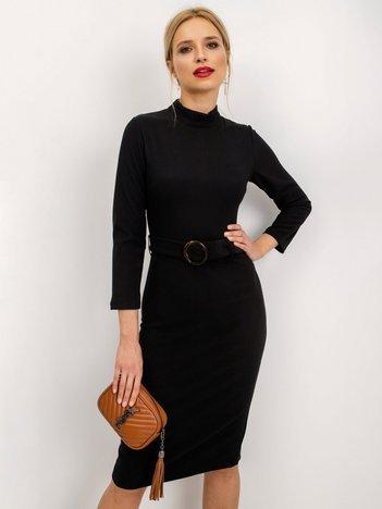 Czarna sukienka Promised