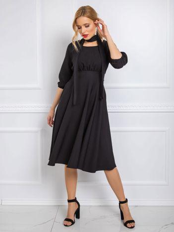 Czarna sukienka Sandra RUE PARIS