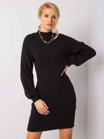 Czarna sukienka Tris RUE PARIS
