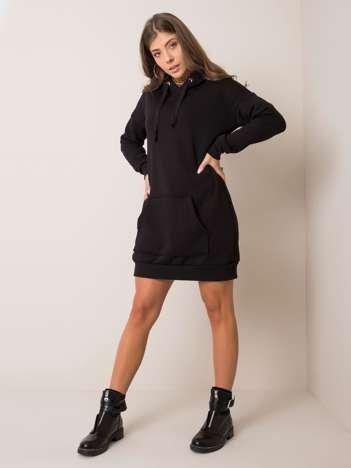 Czarna sukienka Vittoria RUE PARIS