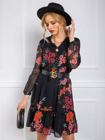 Czarna sukienka Volare RUE PARIS