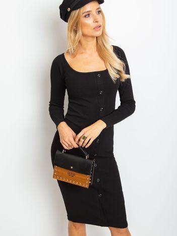 Czarna sukienka Wild