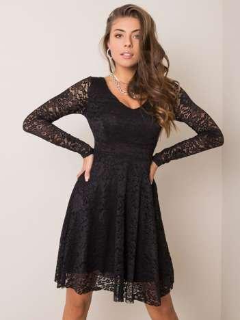 Czarna sukienka koronkowa Calumi SUBLEVEL
