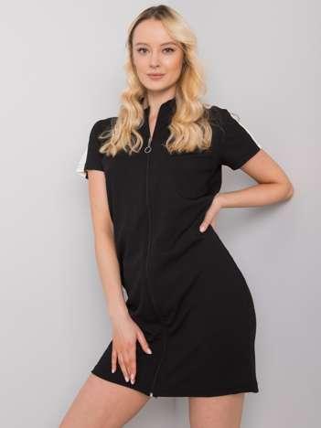 Czarna sukienka na co dzień Seppa RUE PARIS