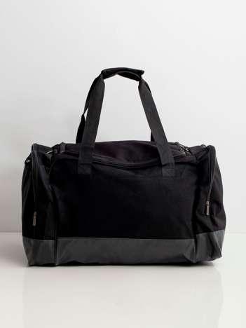 Czarna torba męska