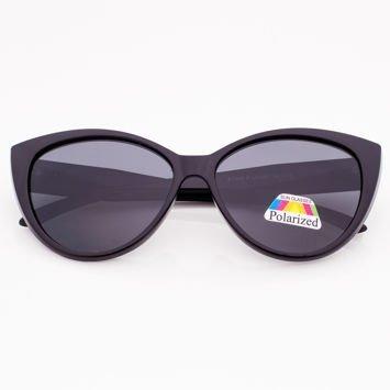 Czarne Damskie Okulary POLARYZACYJNE KOTY