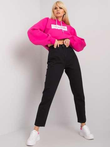 Czarne jeansy mom fit Berry RUE PARIS